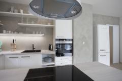 Imitace betonu v kuchyni - Praha 5